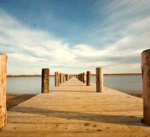 Entspannung - Brücke
